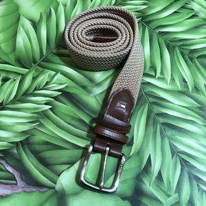 Tommy Hilfiger Mens Taupe Belt Size 36-38